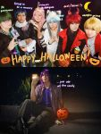 Kuroko no Basket Halloween! by behindinfinity