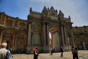 Dolmabahce Palace 1 by tiptopland