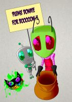 Invader Zim - Please Donate for Doom by Silent-Sid