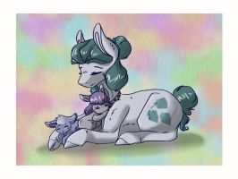 A Mother's Love by Skruff-Luck