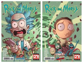 Rick and Morty 41 and 42 by ChrissieZullo