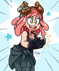 Mei Hatsume (My Hero Academia) by The-Knick