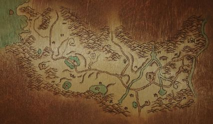 Ashenvale [Wood Burning] by TallmanCreations