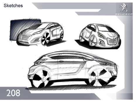 Concept Peugeot 208 2014 by alexandredesign