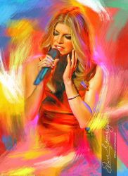 Live the music - Fergie 4 by artistamroashry