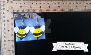 Bumblebees Earrings by TheTrueGypsyQueen