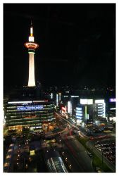 Kyoto Tower by KrisG
