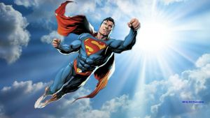 Superman Wallpaper - Sunny Day 1 by Curtdawg53