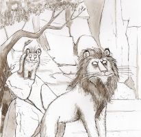 The Lion King meets Searle by Kite88