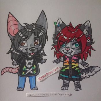 Traditional Marker Cheebs by MystieRius