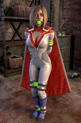 Power Girl Subdued by VideoGameBondage