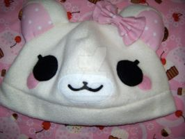 Cute Lolita Plush Bear Hat II by Vanilla-Cupcake