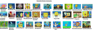 DeviantArt Reviewers Portrayed by SpongeBob by The-Doctor-W