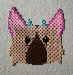 The Last Guadian: Trico Perler Beads by Tigerstar52
