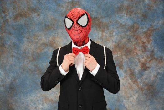 Wedding Crasher Spidey - Cosplay #3 by HulktySSJ2