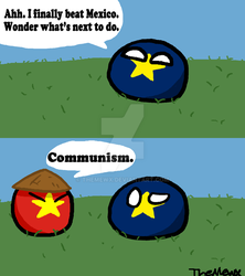 Countryball Comic #16 What Now by TheMewx