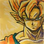Post-It Son Goku by vandonovan