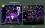 Draw This Again- I Am The Night by TheLunarEmpress