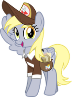 MLP Vector - Derpy Hooves by jhayarr23