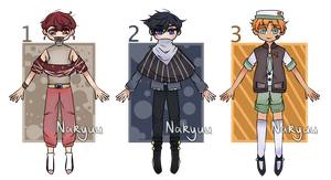 Cheap Adopt Auctions! [1/3 OPEN] by Nakyuu