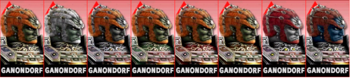 SSB4: Ganon Comtuse (3Ds Player) by TheZeldaFan22