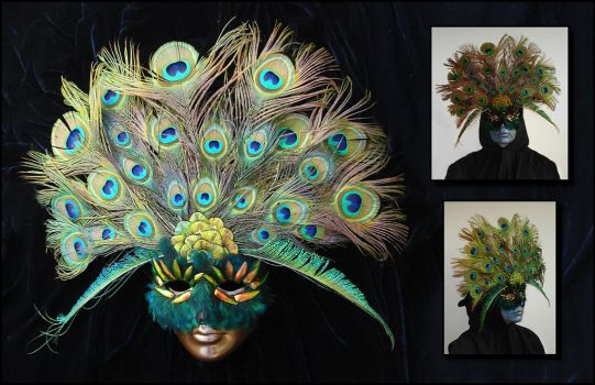 The Peacock King by Ellygator