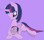 MLP FiM- Mommy and Daughter by VoltaliatheMajestic