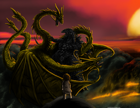 Battle Of All Ages by KaijuKid