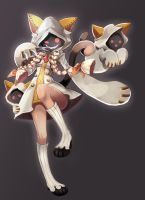 Taokaka from Blazblue by PixiTales