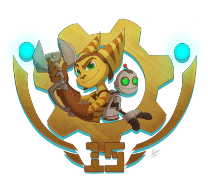 Happy 15th Birthday Ratchet and Clank by BlueStripedRenulian