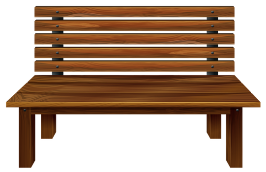 Wooden Bench PNG by yotoots