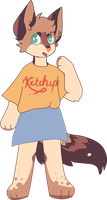 ketchup powers by pikachuwu