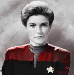 Captain Janeway by CrisisEnvy