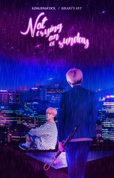 Not crying on a sunday [Wattpad cover] by HikarisArt