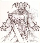dante.... the beast within by insurrection15