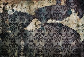 vintage damask by bushma