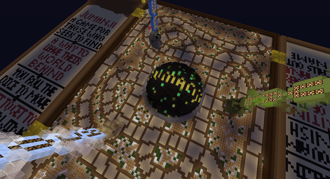 New Jumanji Board Spawn by JumanjiCraft