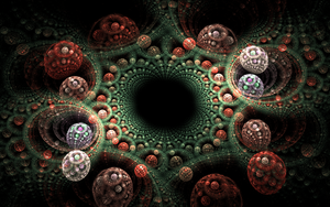structured 3D bubbles by Andrea1981G