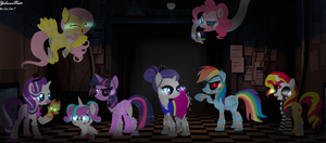 MLP Ponifications FNAF Special Halloween 2016! by YulianaPie26