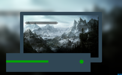 The Elder Scrolls Skyrim Xbox One by Bruellkaefer