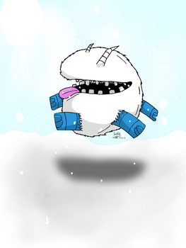 Snow Chester (Dont Starve art) by GhostDragon64