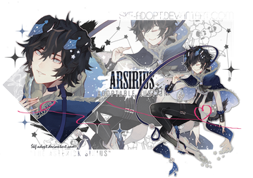[CLOSED TY!]ARSIRIUS :The Dog Star by Skf-Adopt