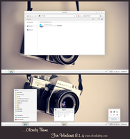 Cloudy Mac Theme For Windows 8.1 by Cleodesktop