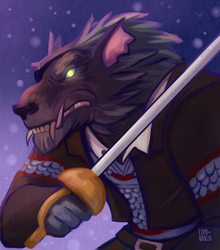 Commission - For Bas by Luminanza