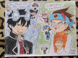RQ#5 Rin Okumura VS Laniplier by WritingwithHearts
