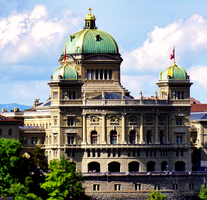 Swiss House Of Parliament by LeWelsch