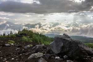 View from Fuji by TimGrey