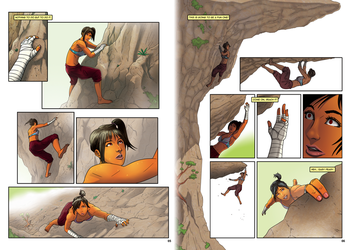 The Climb Pages 5 and 6 by phuvuong