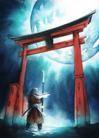Torii gate by TheDoubleDwarf