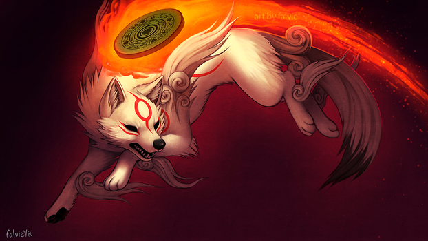 Amaterasu by falvie